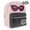 Mochila Casual LOL Surprise! 72768 Rosa Negro
