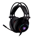 Auriculares con microfono Coolbox Deeplighting gaming led jack
