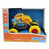 Coche Fric Big Wheel en color amarillo Speed&Go +3 años