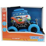 Coche Fric Big Wheel en color azul Speed&Go +3 años