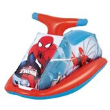 Moto hinchable Spiderman Bestway 89 x 46 cm