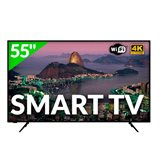 "Smart TV Hitachi 55"" 55HK5100 UHD wifi negro"